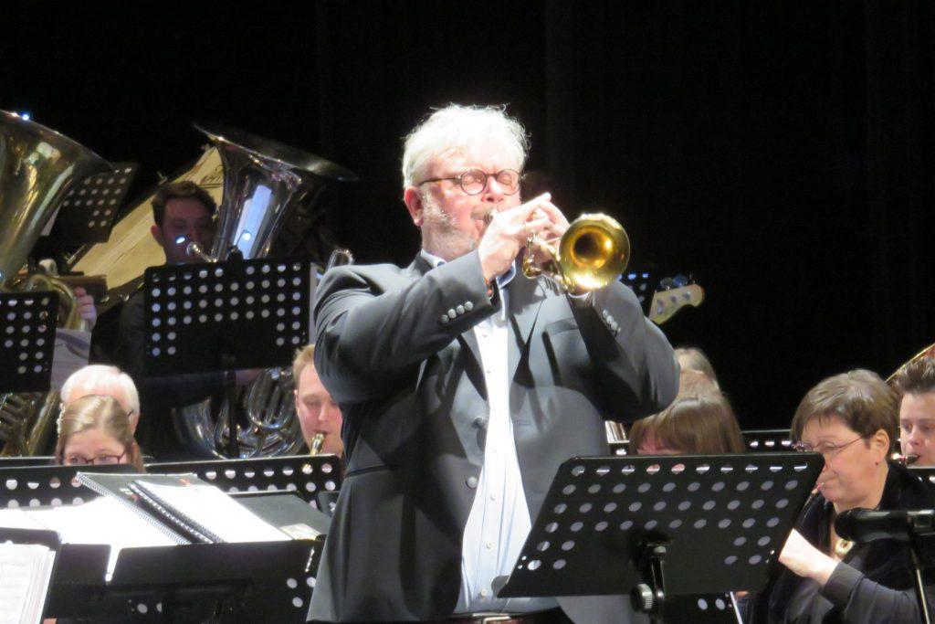 Cecilia avond 2018 hans solo trompet dirigent