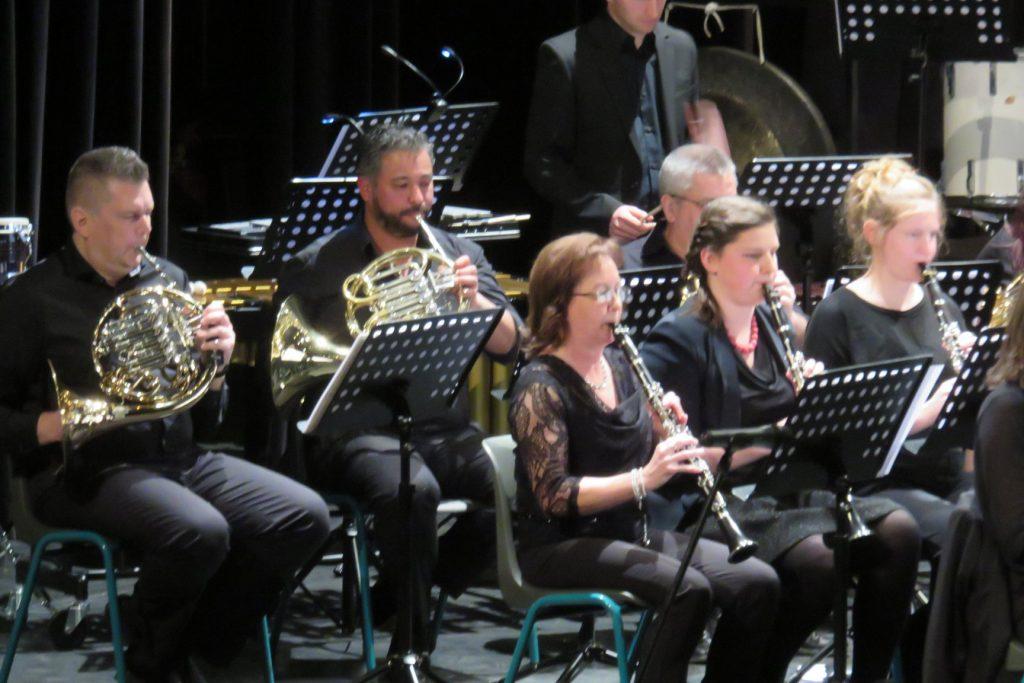 Cecilia avond 2018 klarinet hoorns