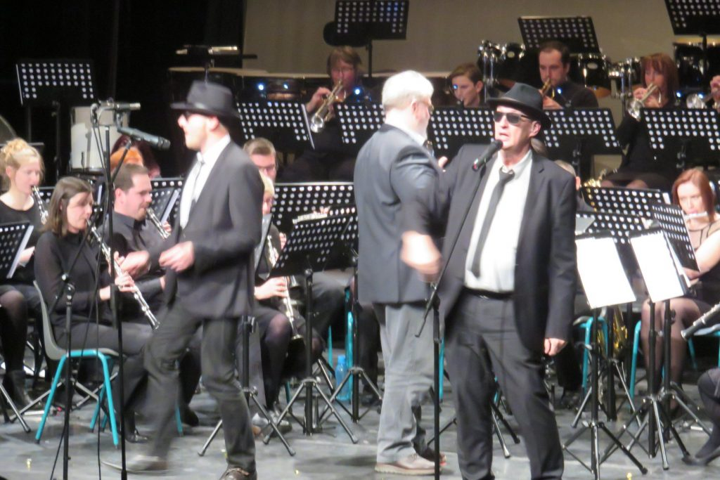 Cecilia avond 2018 blues brothers act