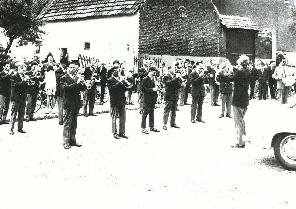 1961 concert gingelom koninklijke harmonie sint-cecilia