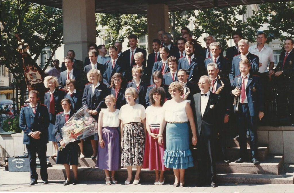 1988 Luxemburg concert koninklijke harmonie sint-cecilia gingelom