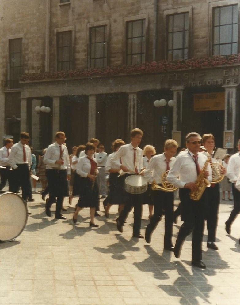 1988 optreden leuven koninklijke harmonie