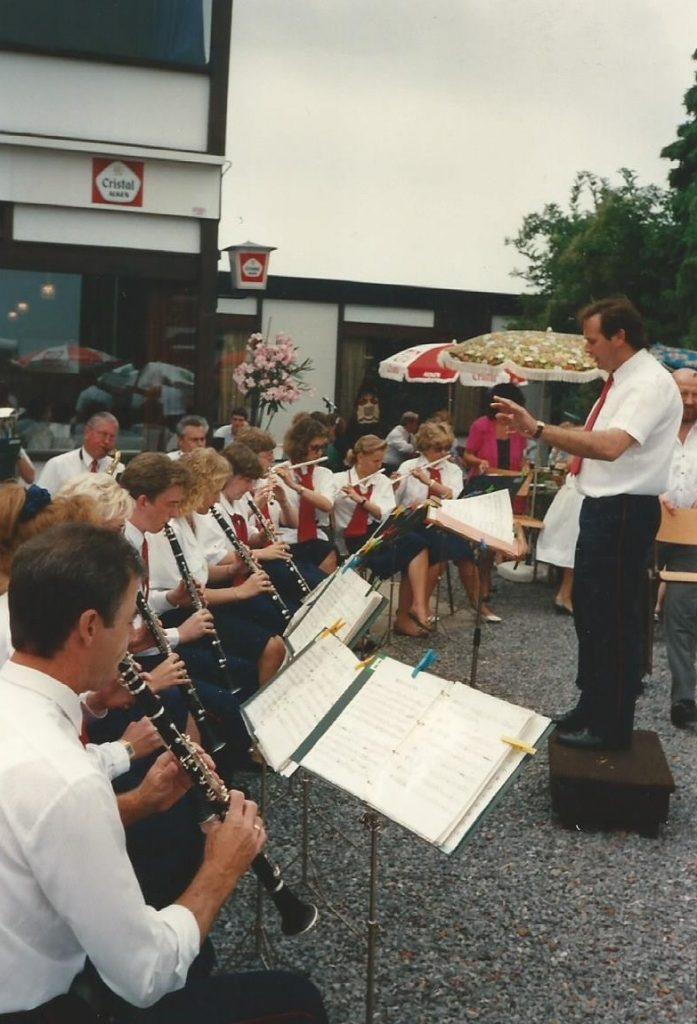 1989 concert cecilia inn steenweg gingelom koninklijke harmonie sint-cecilia
