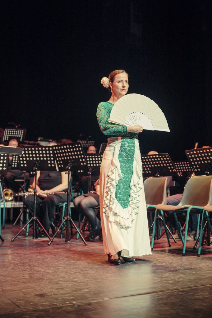 Cecilia avond 2019 flamenco danseres