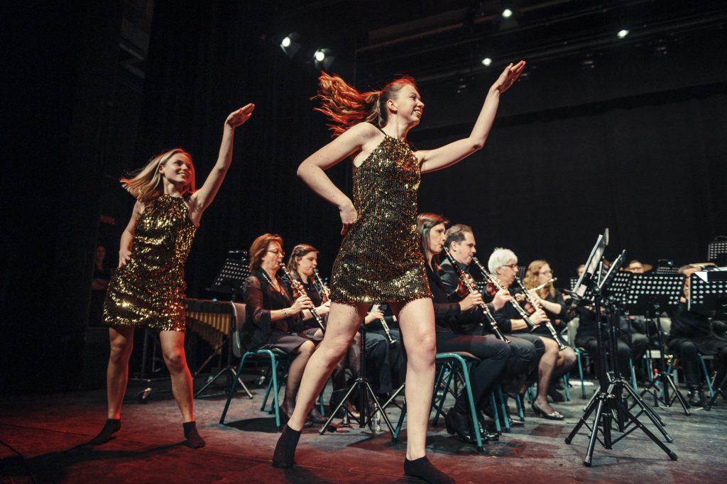 Cecilia avond 2019 lou bega danseressen
