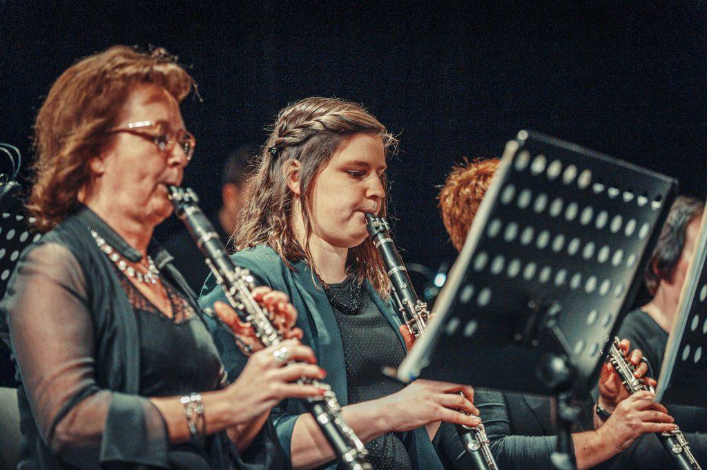 Cecilia avond 2019 klarinet en pupiter