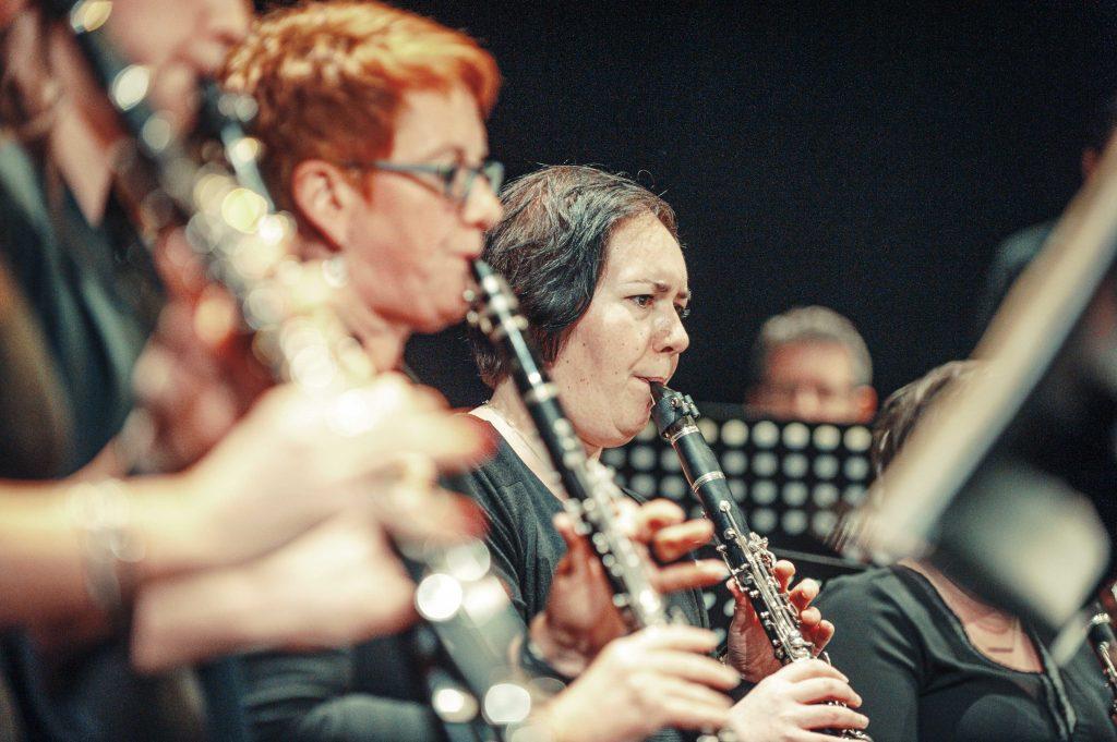 Cecilia avond 2019 drie klarinetten