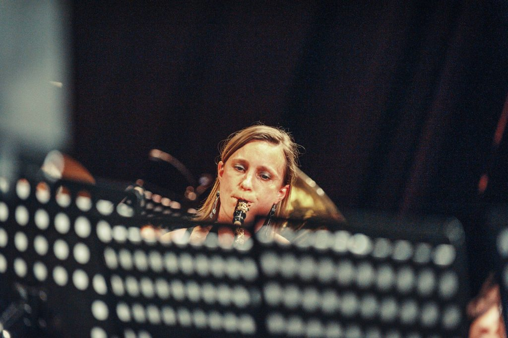 Cecilia avond 2019 tenorsax close-up