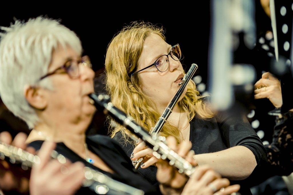 Cecilia avond 2019 slagwerk klarinet