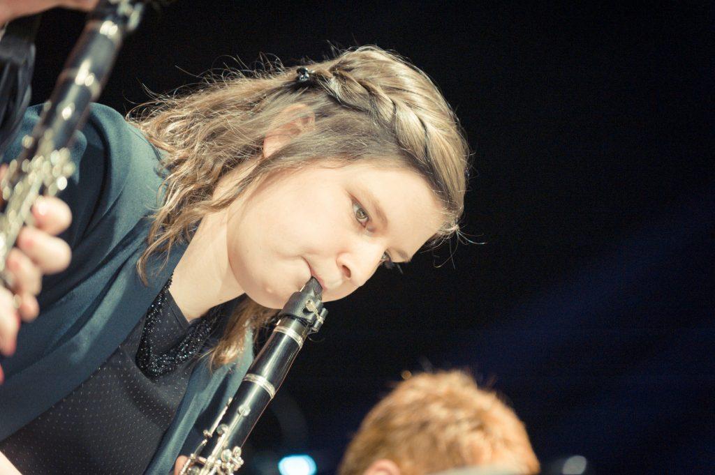 Cecilia avond 2019 klarinet spelen