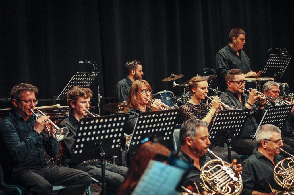 Cecilia avond 2019 trompetsectie
