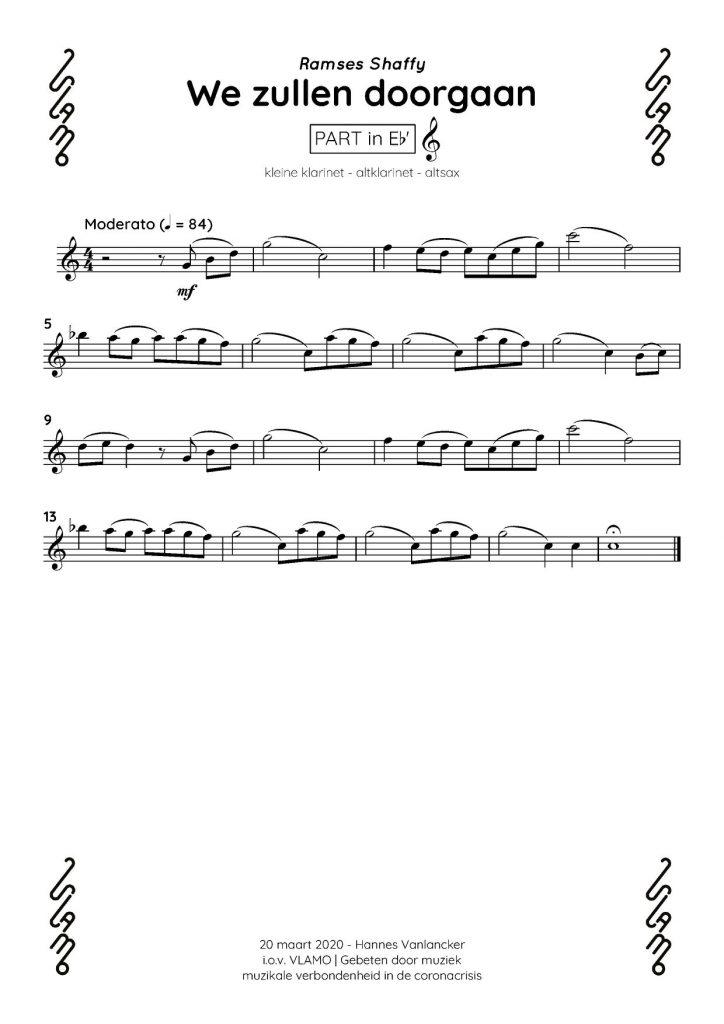 Kleine klarinet altklarinet altsax