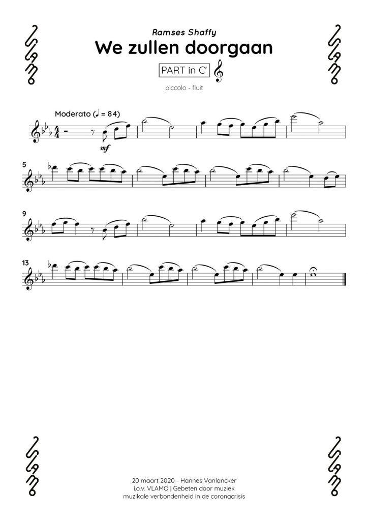 Piccolo fluit