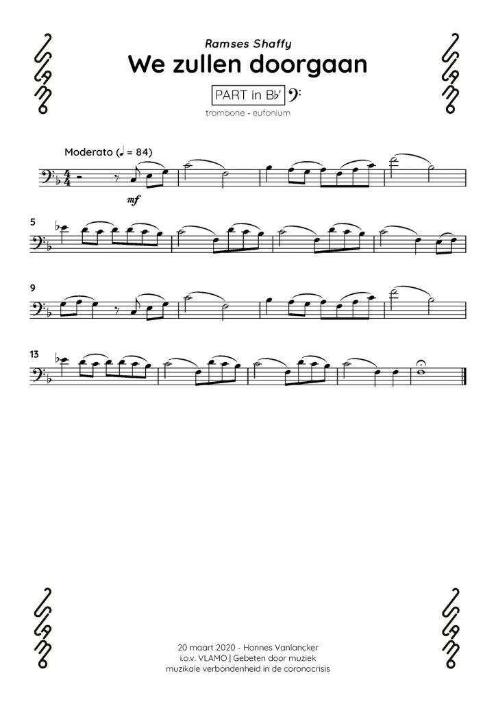 Trombone eufonium